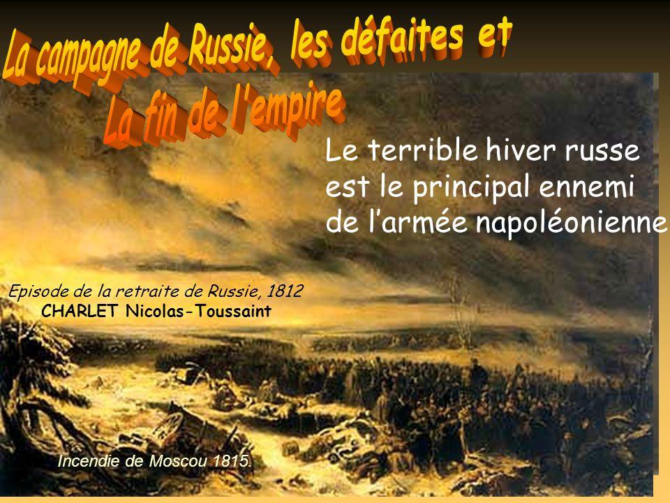 La campagne de Russie, les défaites et