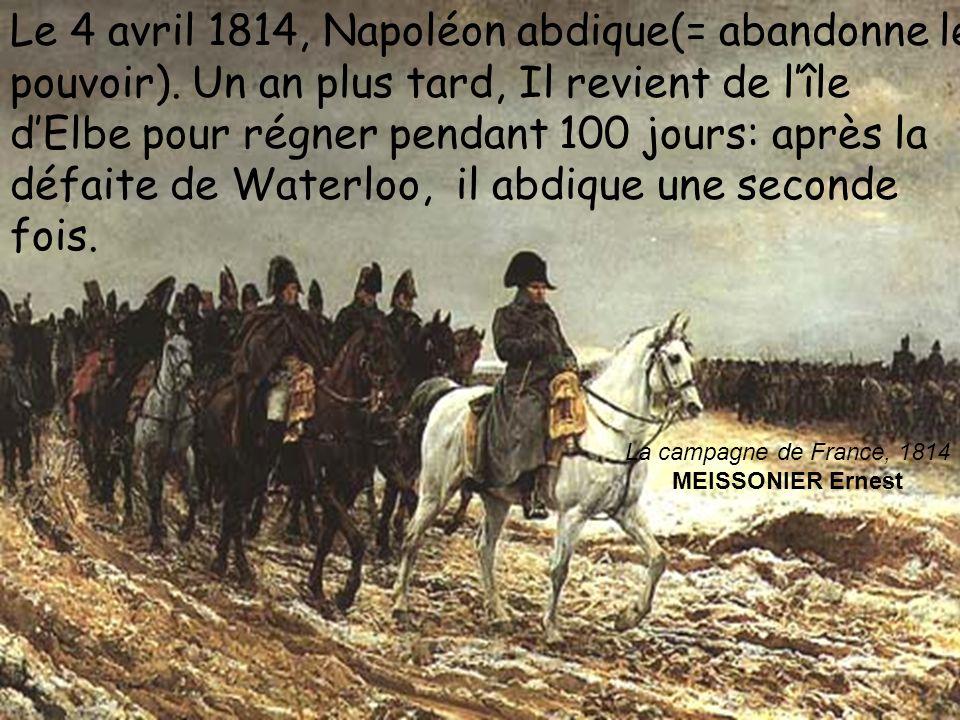 La campagne de France, 1814 MEISSONIER Ernest