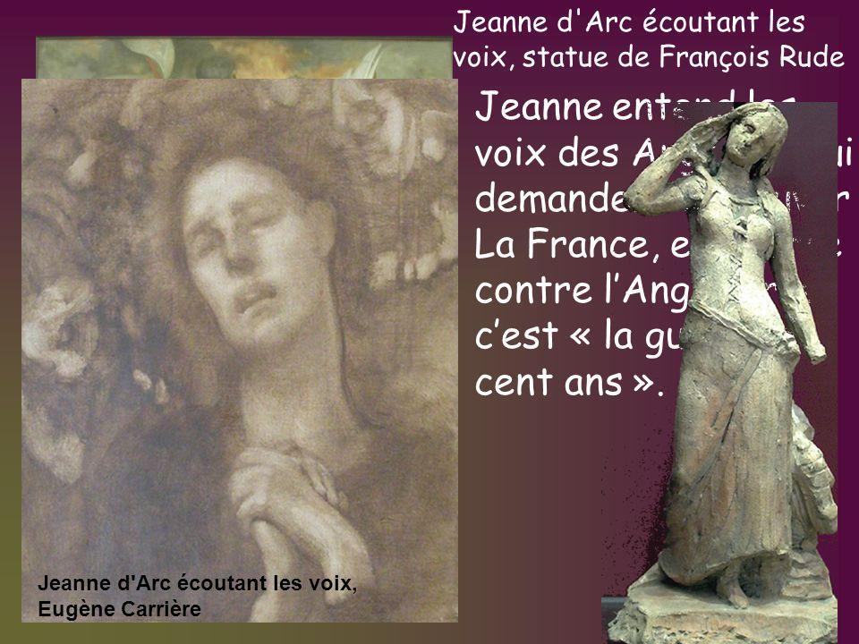 Jeanne d Arc écoutant les voix, statue de François Rude