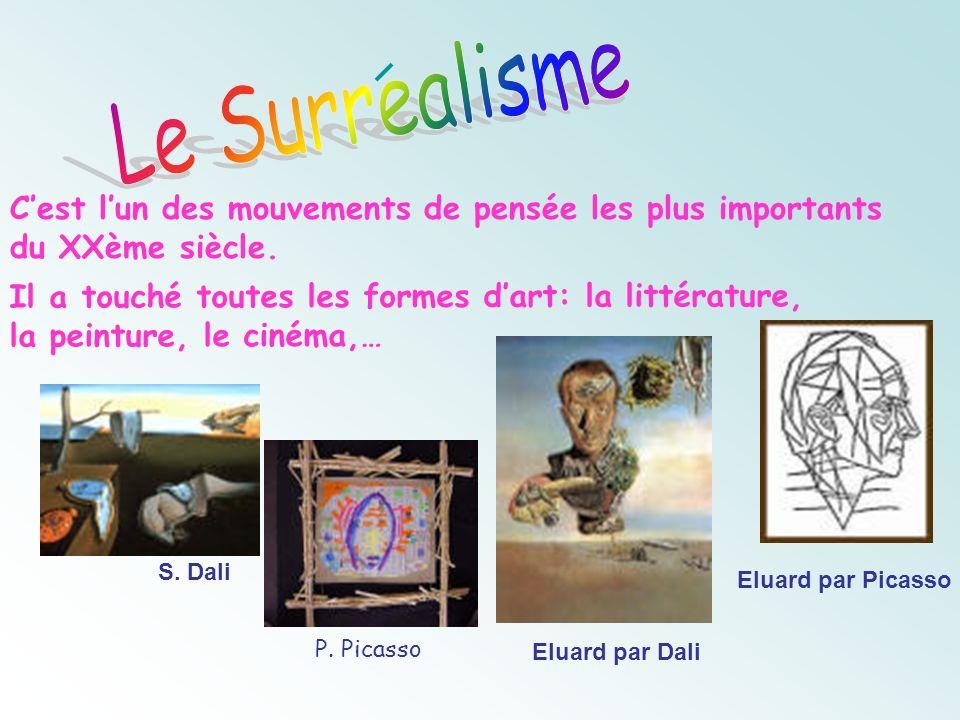 Le Surrealisme C'est l'un des mouvements de pensée les plus importants du XXème siècle.