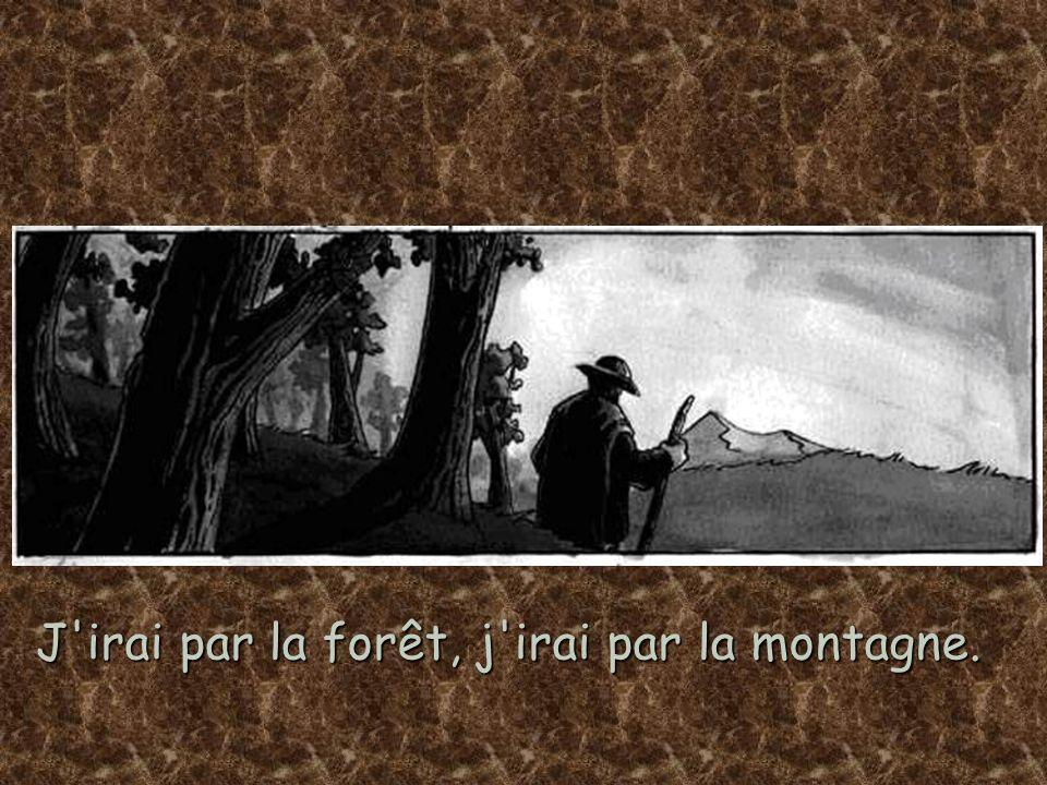 J irai par la forêt, j irai par la montagne.