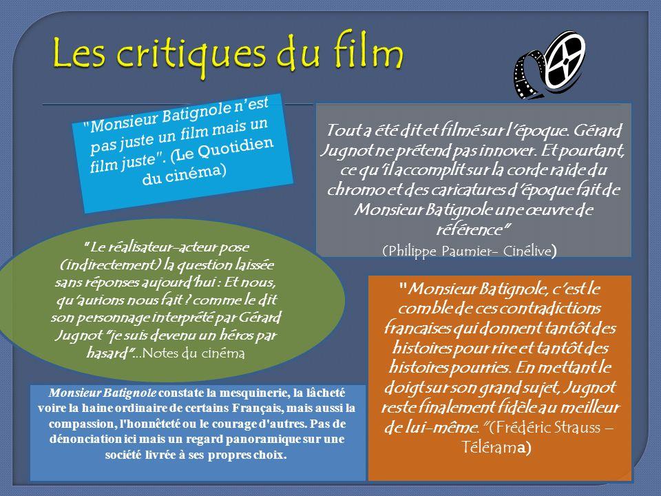 Les critiques du film