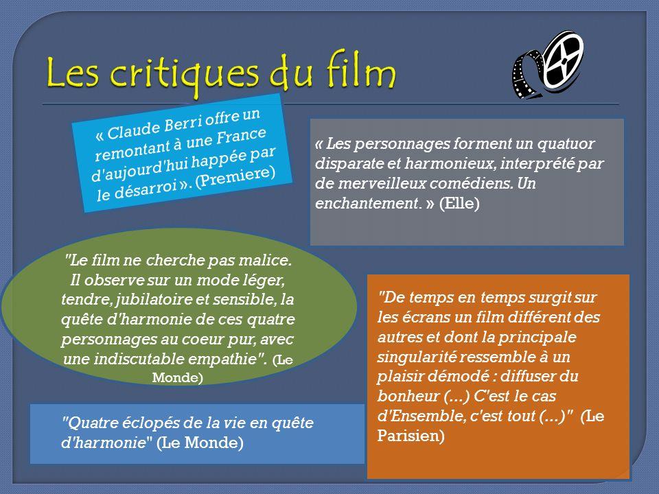 Les critiques du film « Claude Berri offre un remontant à une France d aujourd hui happée par le désarroi ». (Premiere)