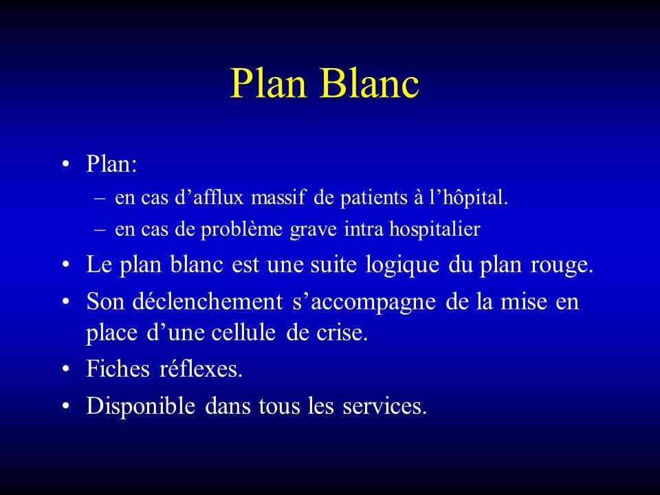 Plan Blanc Plan: Le plan blanc est une suite logique du plan rouge.