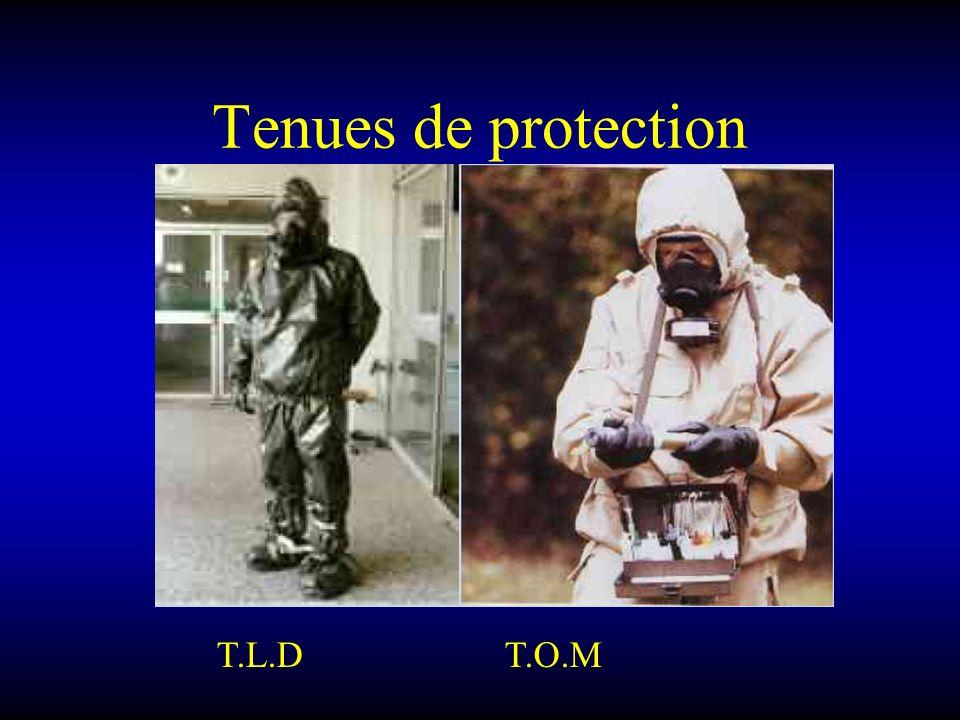 Tenues de protection T.L.D T.O.M