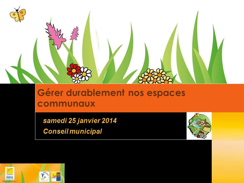 Gérer durablement nos espaces communaux