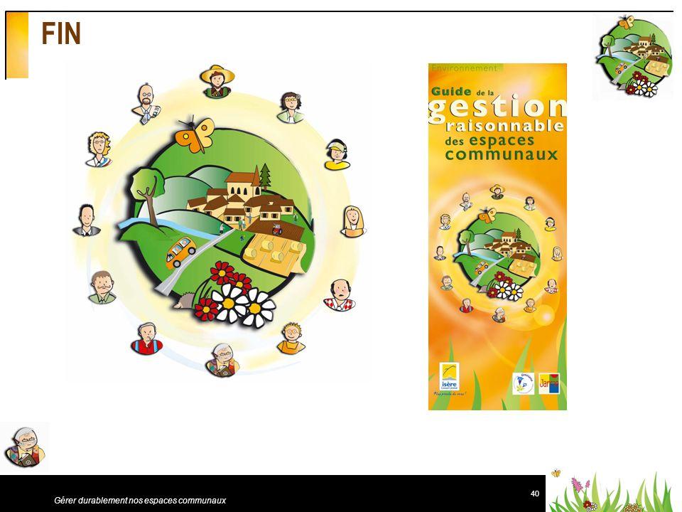 FIN Gérer durablement nos espaces communaux