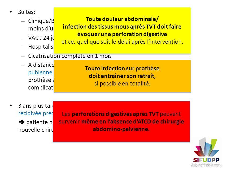 Clinique/Bio: amélioration en moins d'une semaine VAC : 24 jours