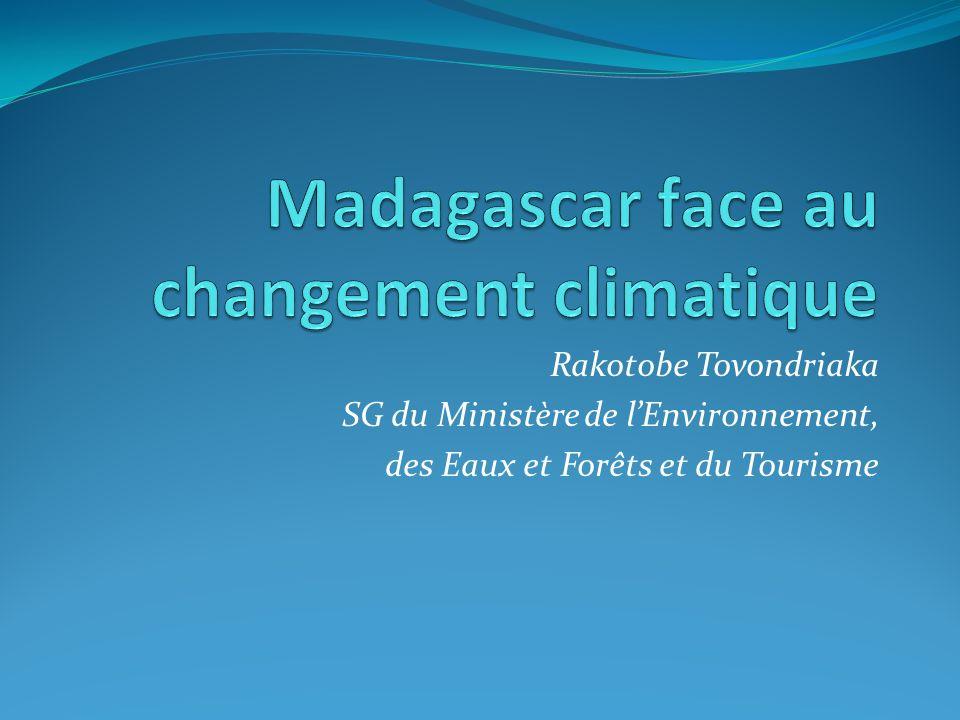 Madagascar face au changement climatique
