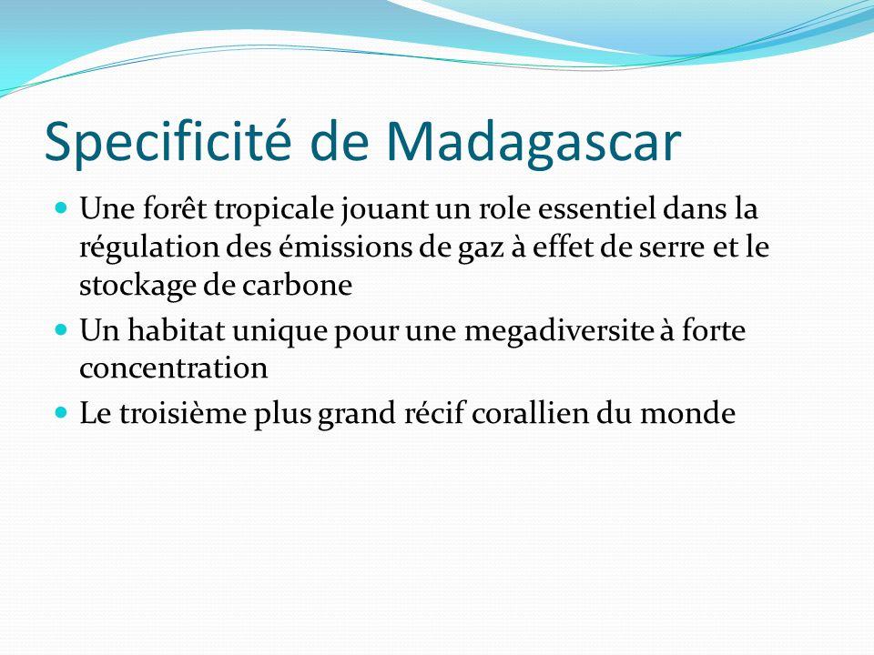 Specificité de Madagascar