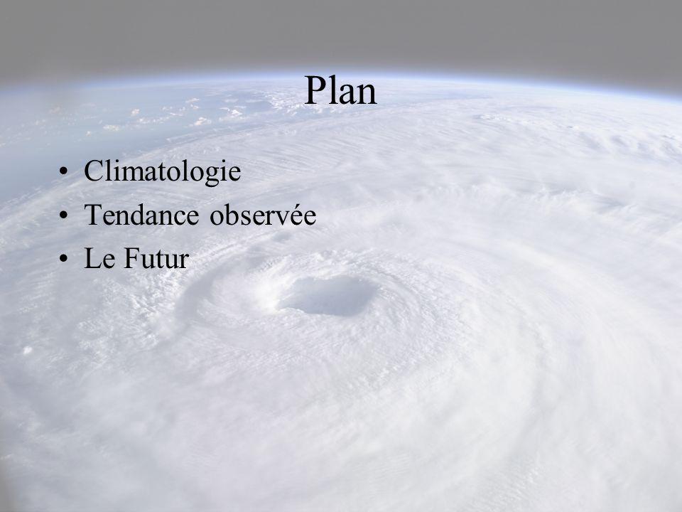Plan Climatologie Tendance observée Le Futur