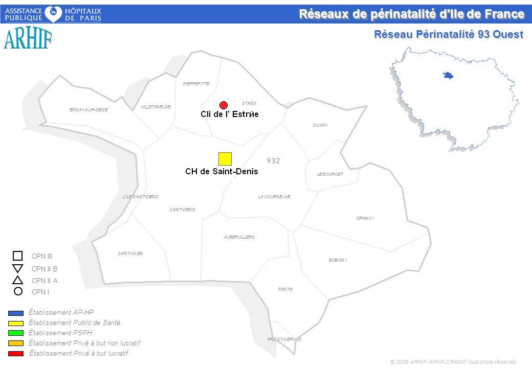 Réseaux de périnatalité d Ile de France