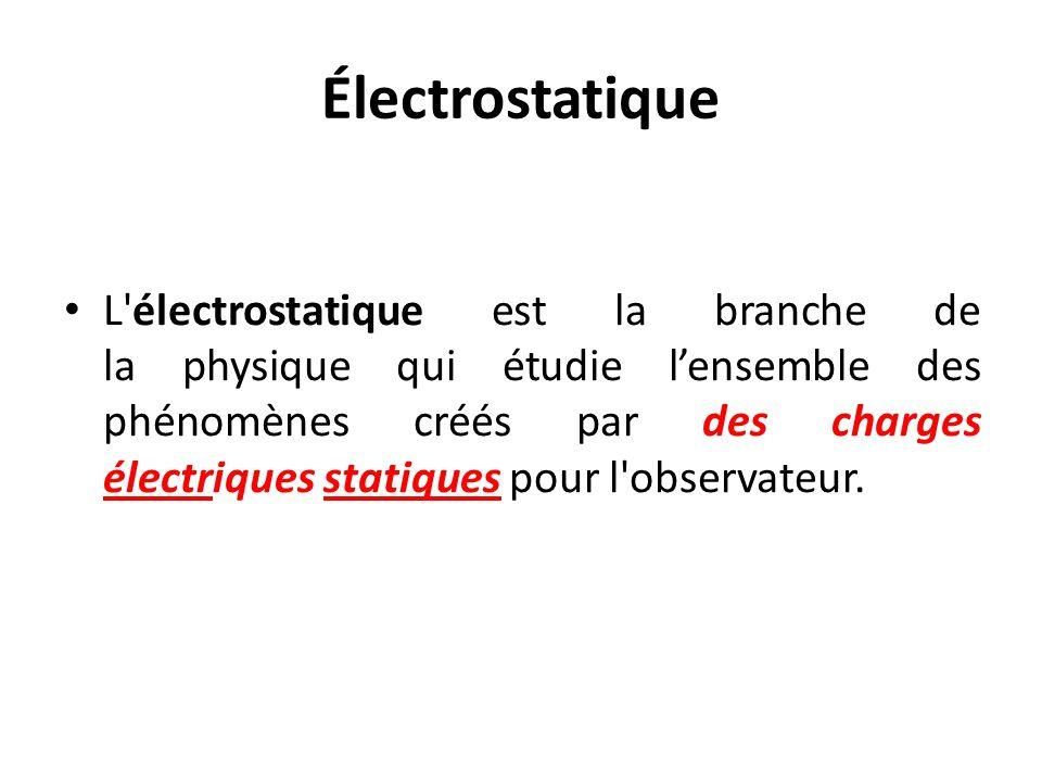 Électrostatique