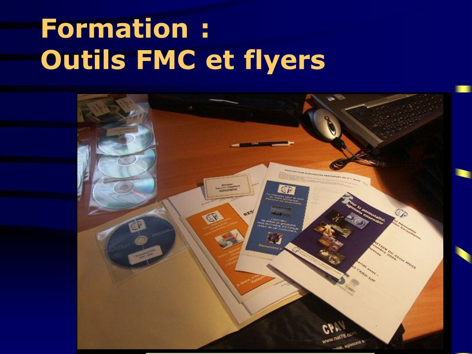 Formation : Outils FMC et flyers