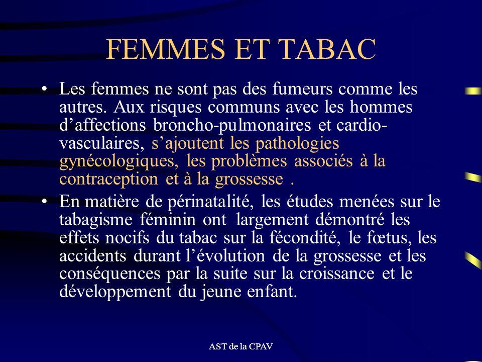 FEMMES ET TABAC