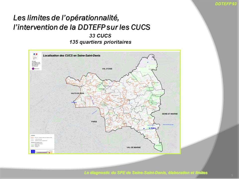 135 quartiers prioritaires