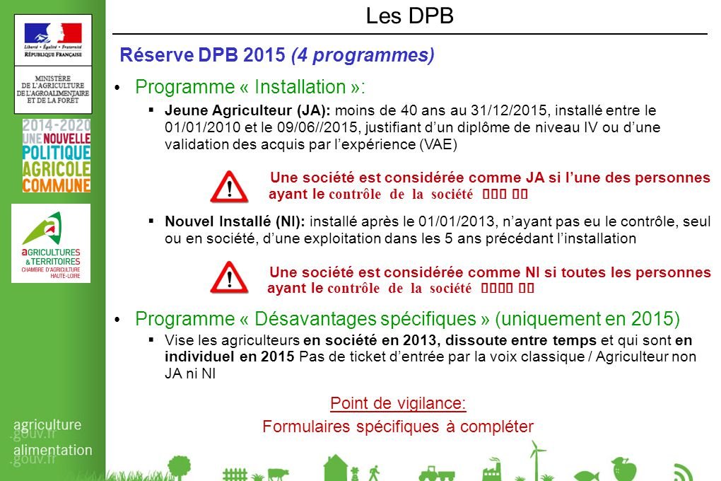 Chambre d agriculture ppt t l charger for Chambre d agriculture 13 organigramme