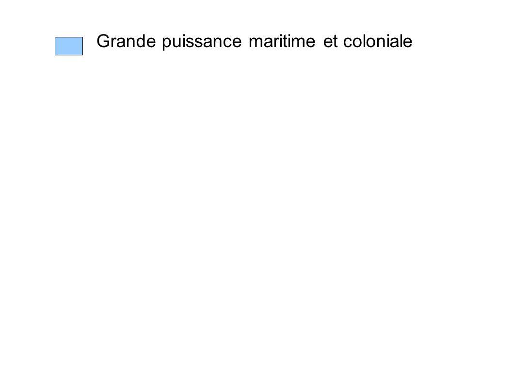 Grande puissance maritime et coloniale