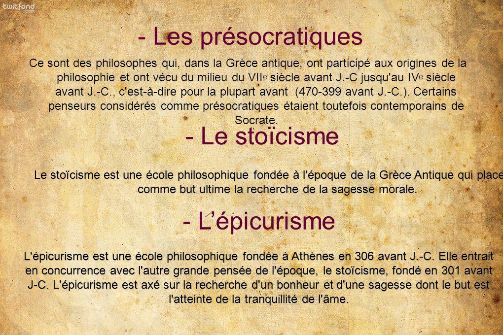 La philosophie Grecque ppt télécharger