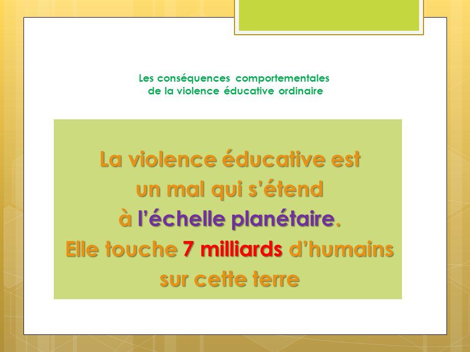 Les cons quences comportementales de la violence ducative - Porter plainte pour violence physique ...
