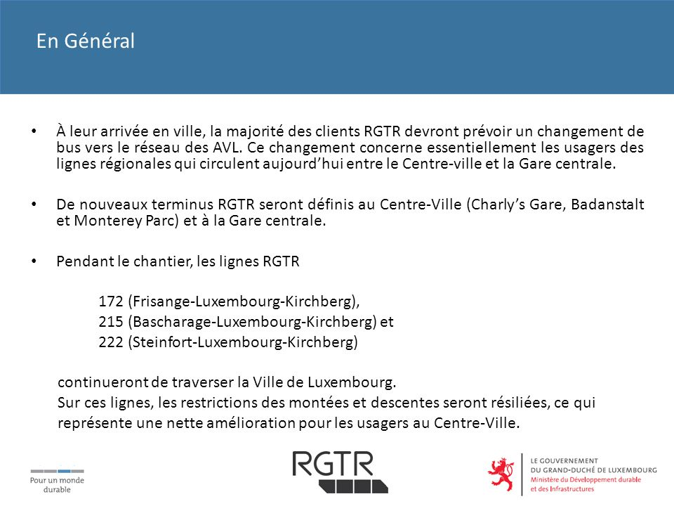 R gime g n ral des transports routiers ppt t l charger for Badanstalt piscine luxembourg