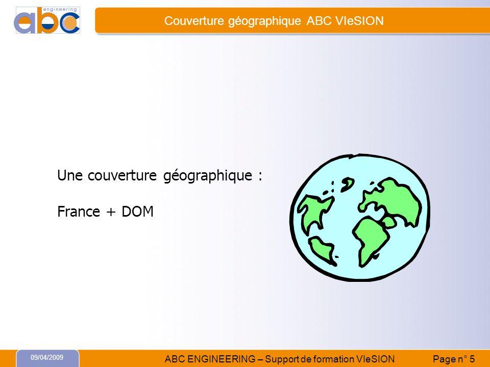 Couverture géographique ABC VIeSION