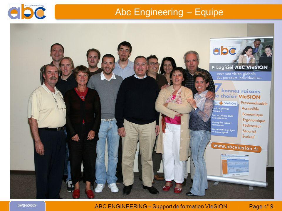 Abc Engineering – Equipe