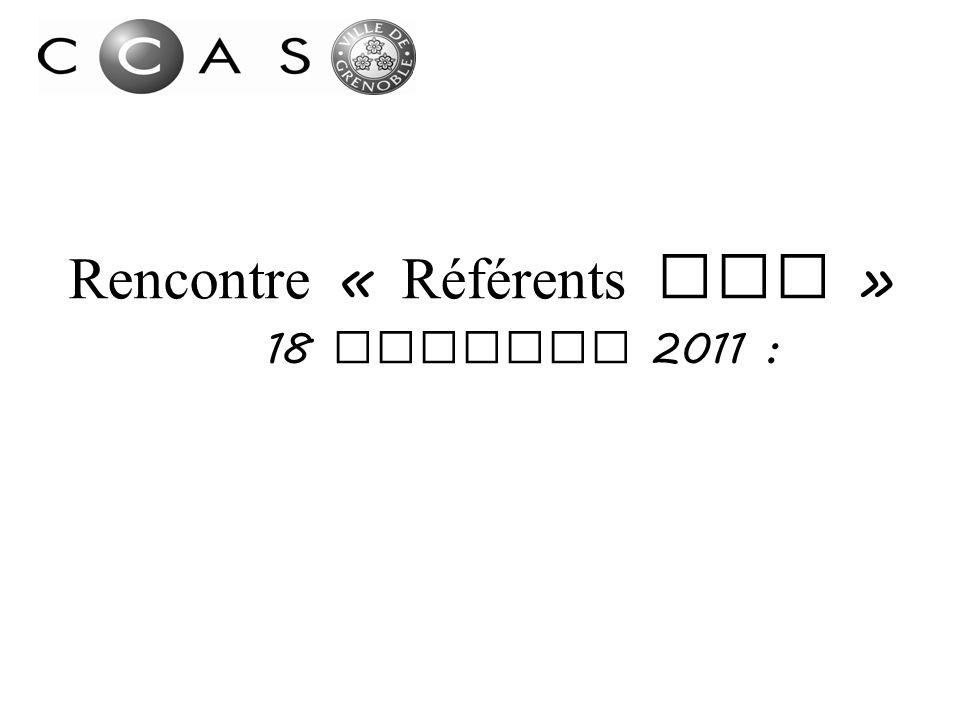 Rencontre « Référents RSA »
