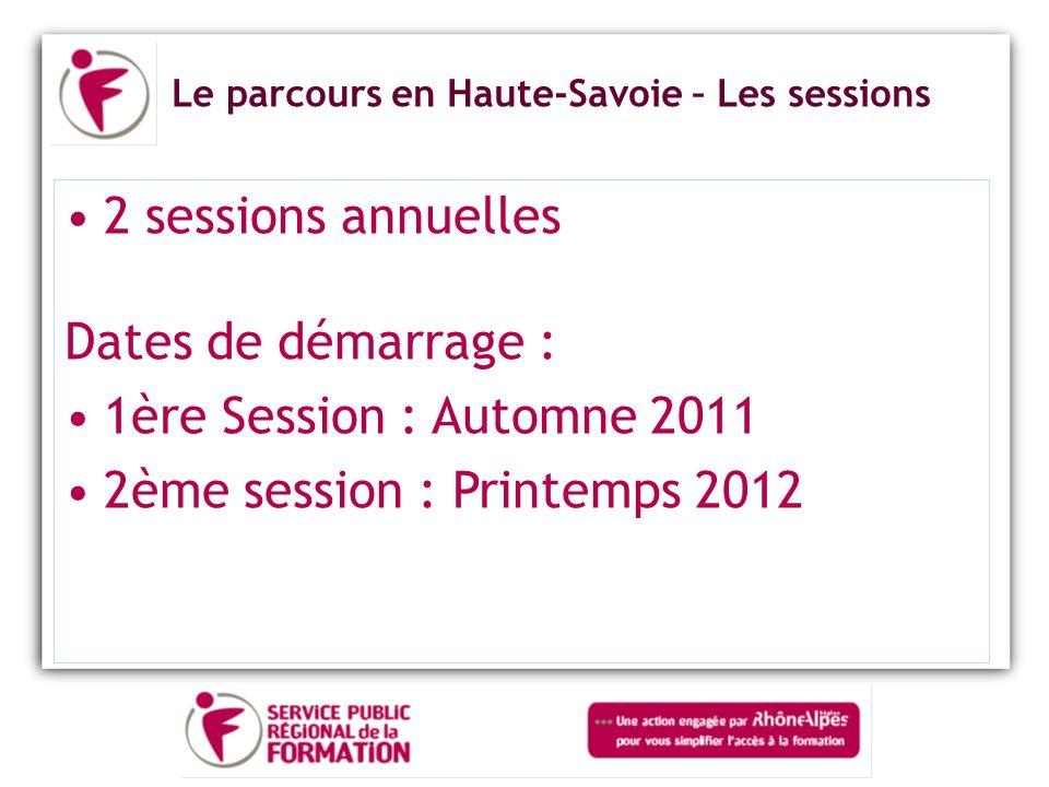 2ème session : Printemps 2012