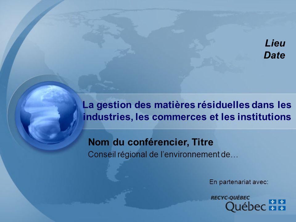 Conseil régional de l'environnement de…