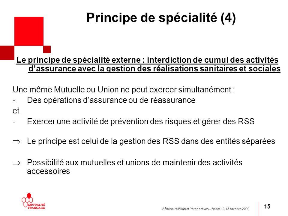 Principe de spécialité (4)