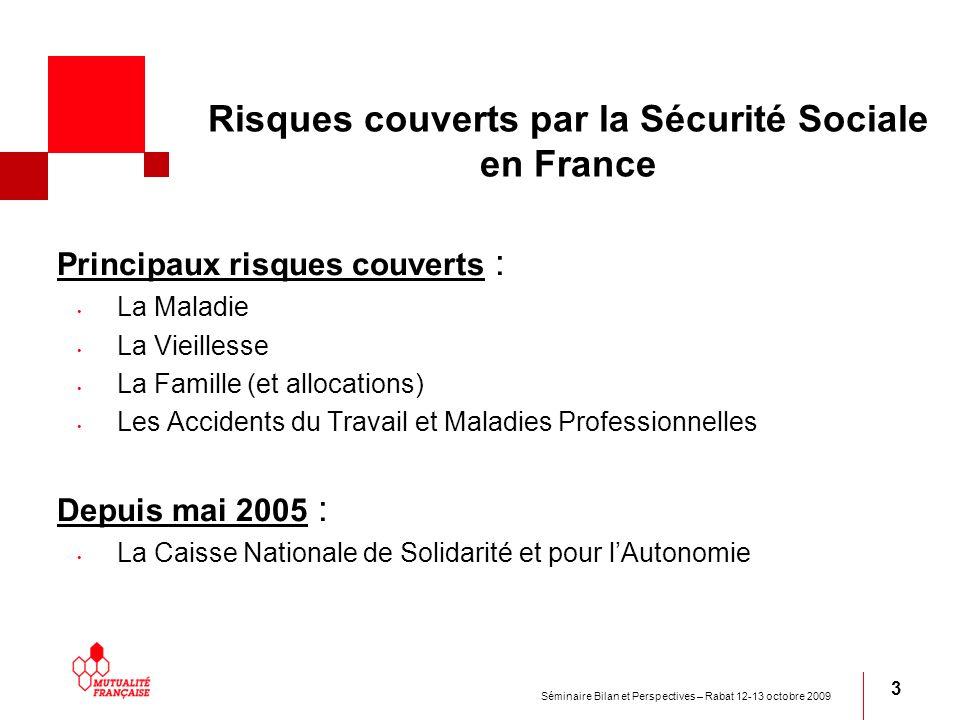 Risques couverts par la Sécurité Sociale en France