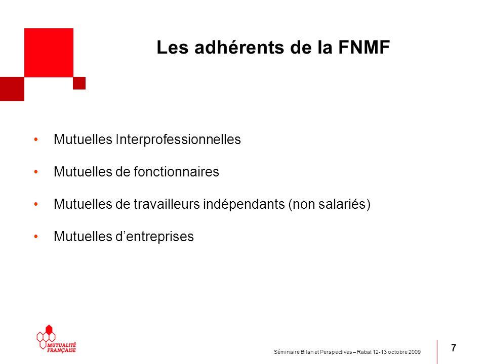Les adhérents de la FNMF