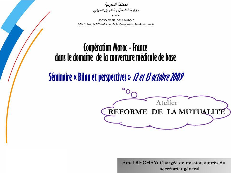 المملكة المغربية وزارة التشغيل والتكوين المهني. * * * ROYAUME DU MAROC. Ministère de l'Emploi et de la Formation Professionnelle.