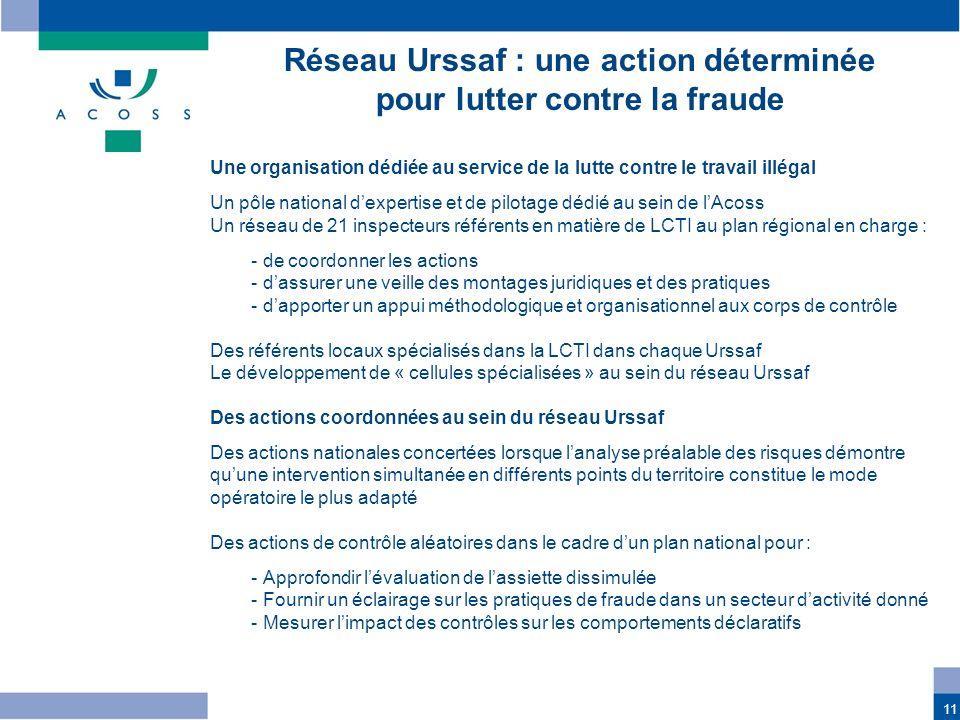 Réseau Urssaf : une action déterminée pour lutter contre la fraude