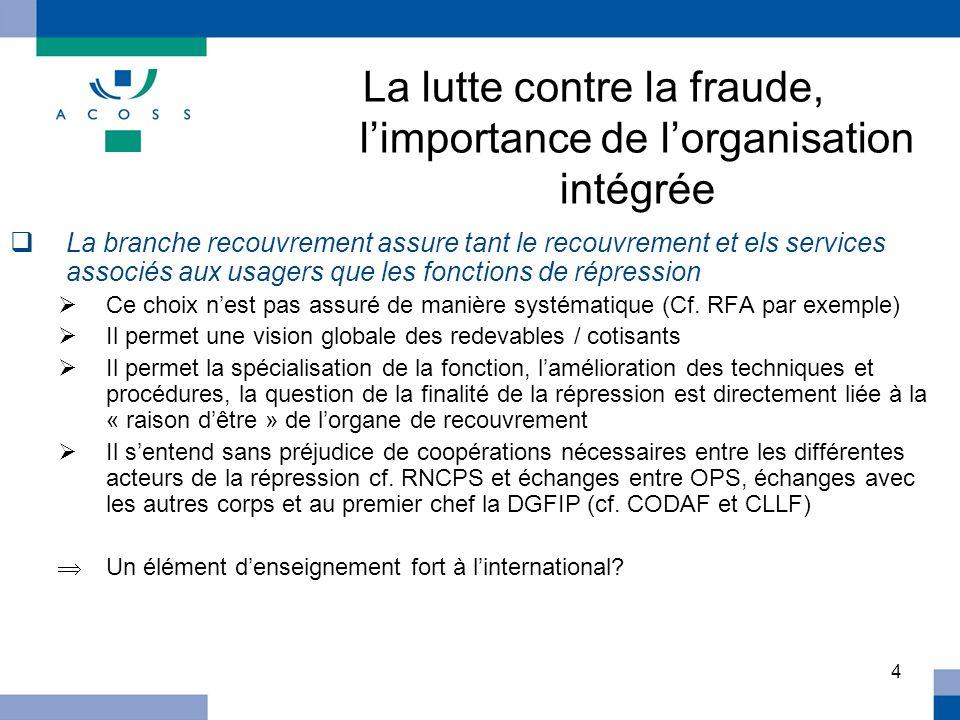 La lutte contre la fraude, l'importance de l'organisation intégrée