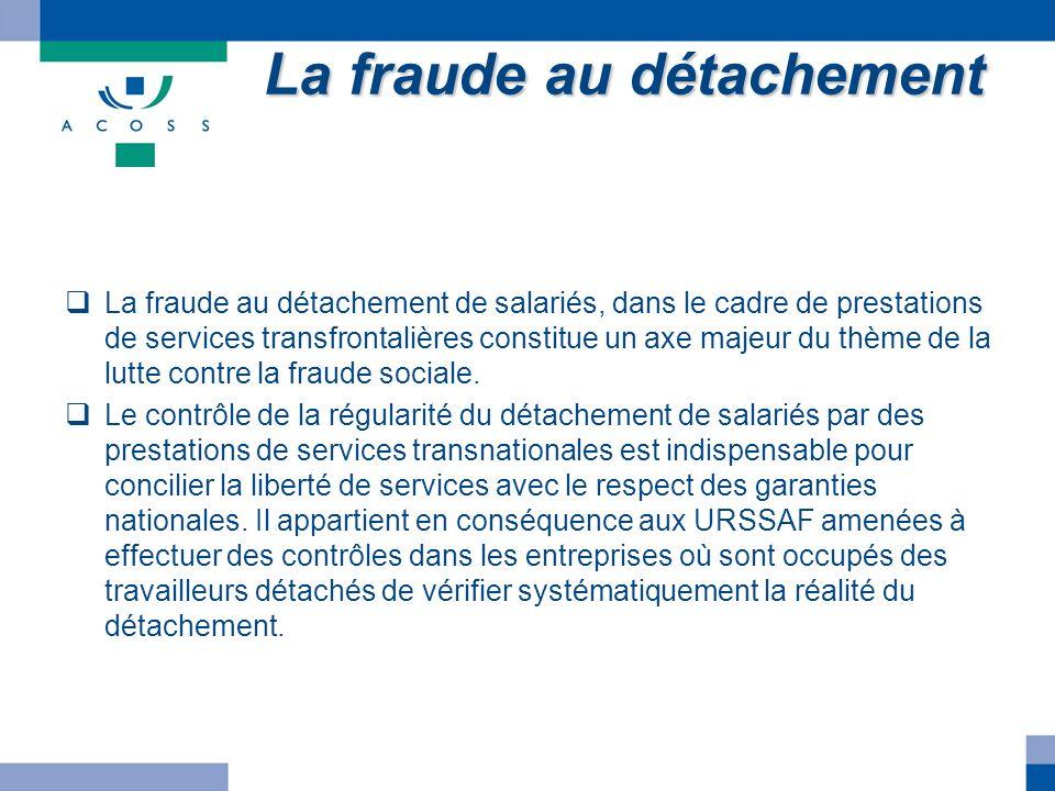 La fraude au détachement