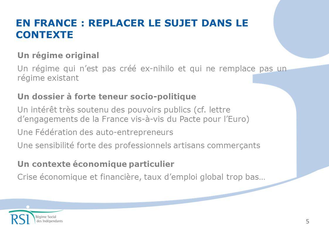 EN FRANCE : REPLACER LE SUJET DANS LE CONTEXTE