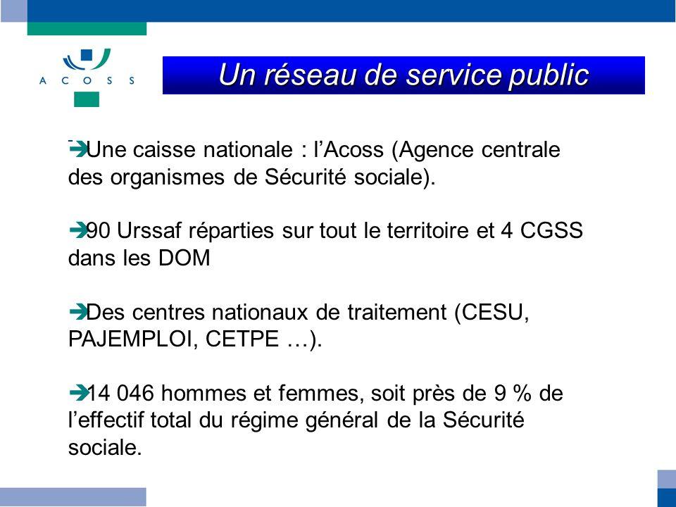 Un réseau de service public