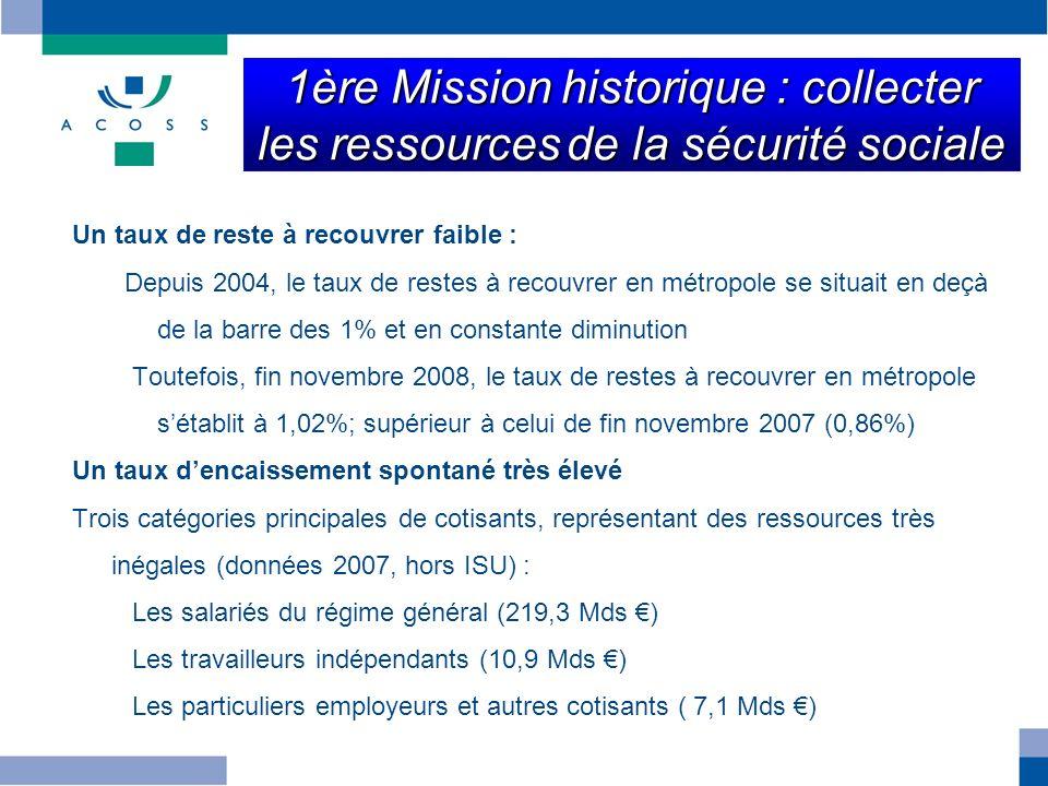 1ère Mission historique : collecter