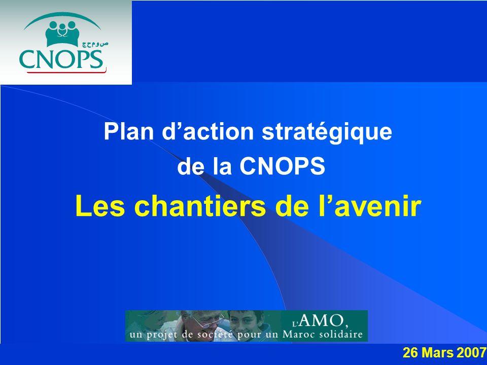 Plan d'action stratégique Les chantiers de l'avenir