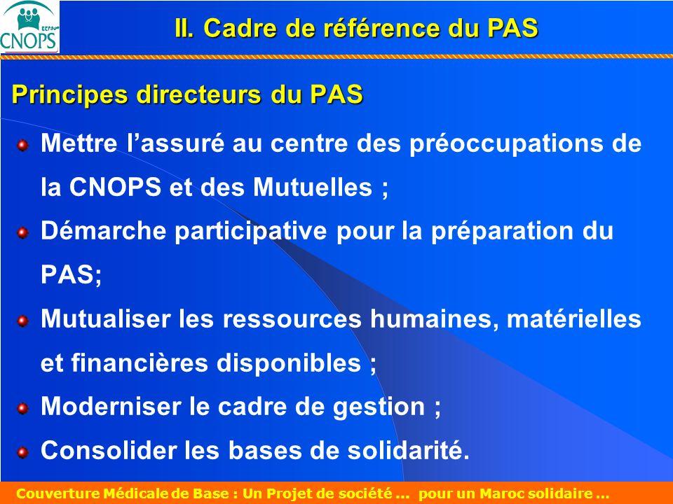 Principes directeurs du PAS
