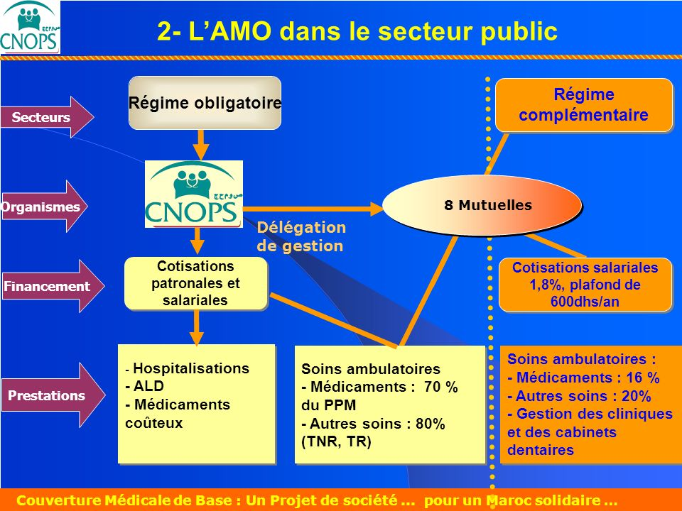 2- L'AMO dans le secteur public