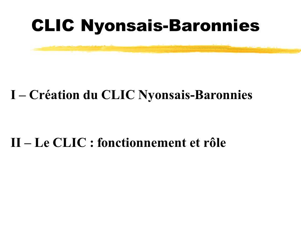 CLIC Nyonsais-Baronnies