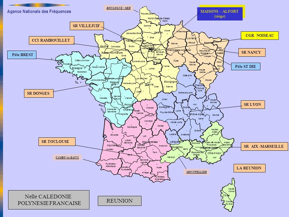Nelle CALEDONIE POLYNESIE FRANCAISE REUNION MAISONS - ALFORT (siège)