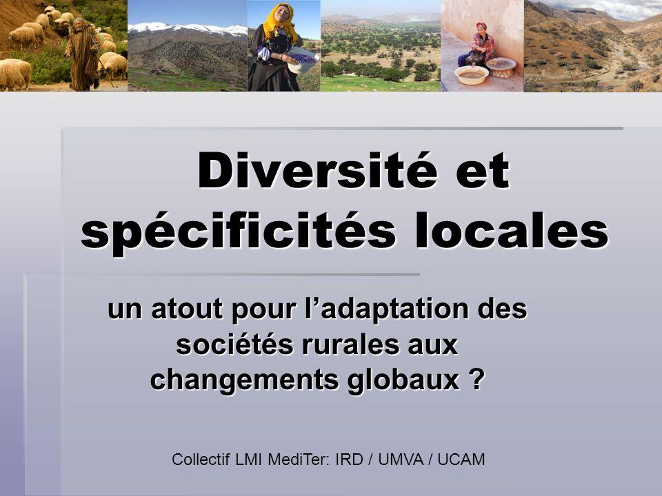 Diversité et spécificités locales