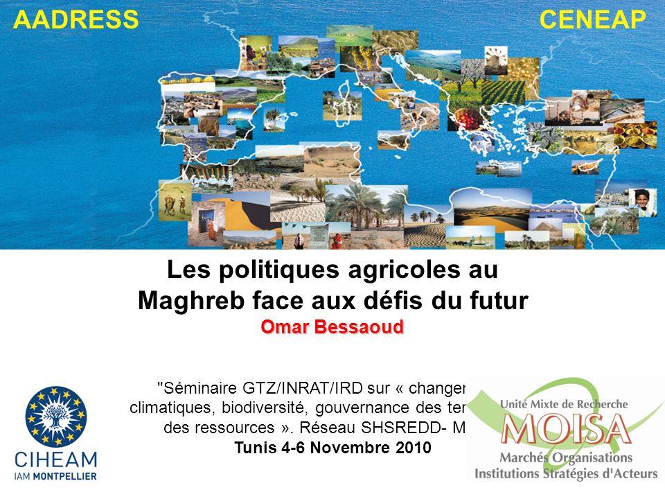 Les politiques agricoles au Maghreb face aux défis du futur
