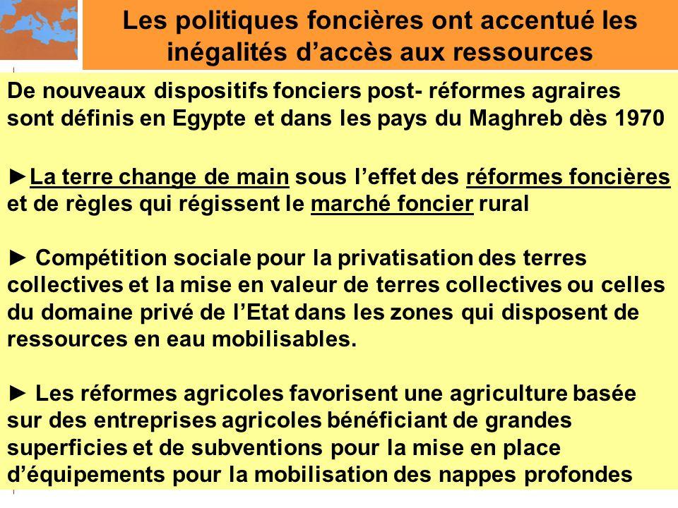 Les politiques foncières ont accentué les inégalités d'accès aux ressources