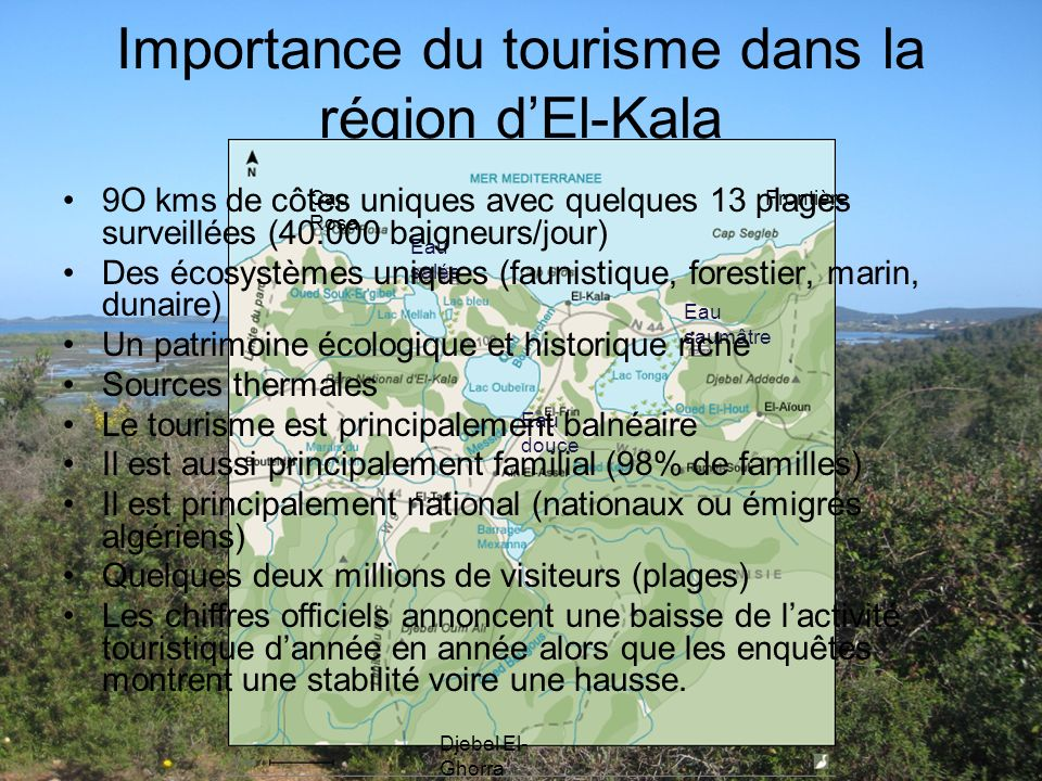 Importance du tourisme dans la région d'El-Kala