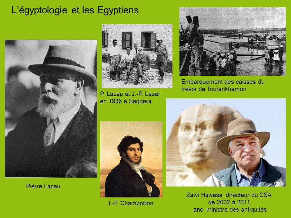 L'égyptologie et les Egyptiens